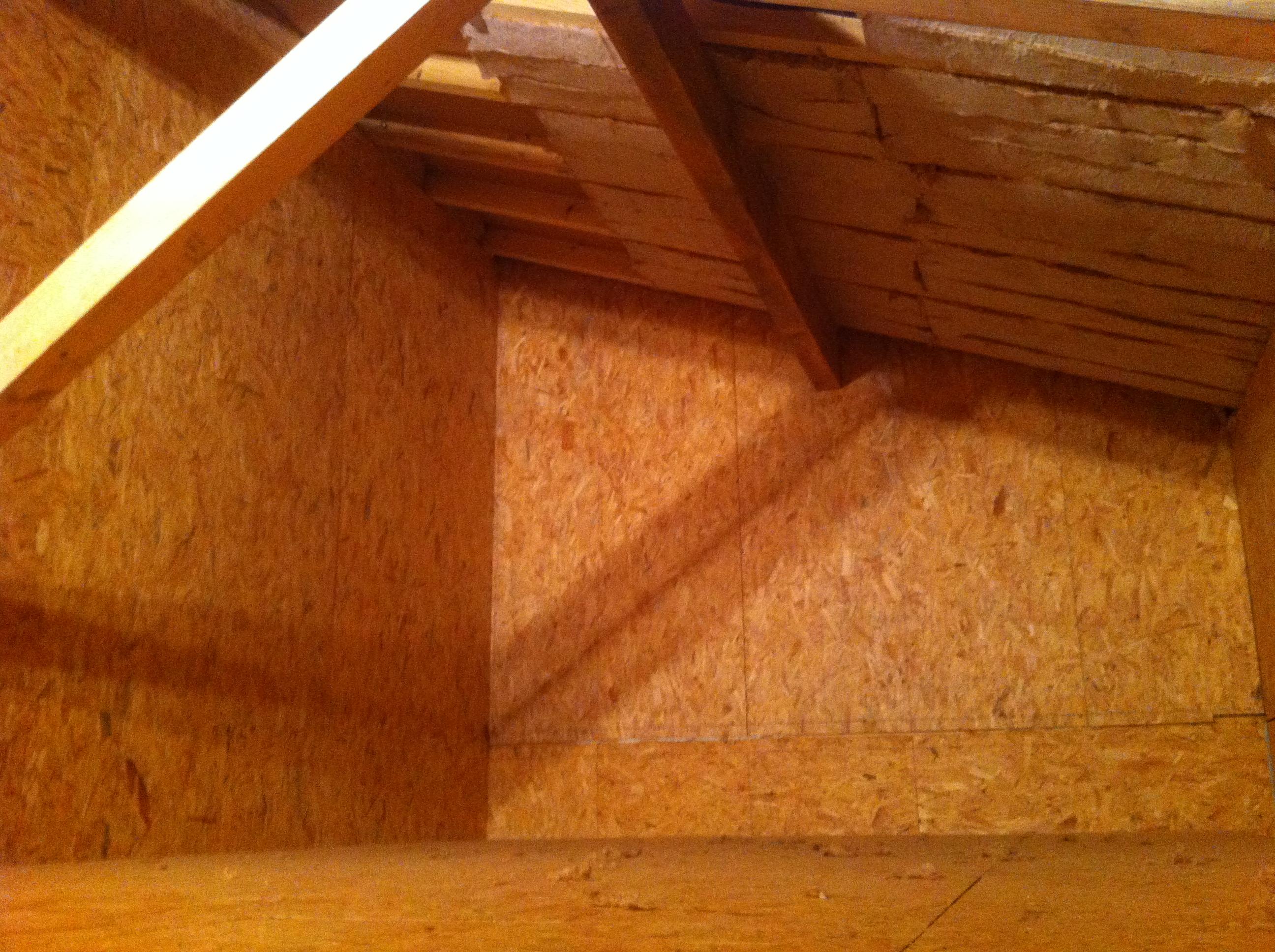Plancher du garage isolation de la partie toiture au dessus blog maison - Isolation plancher garage ...