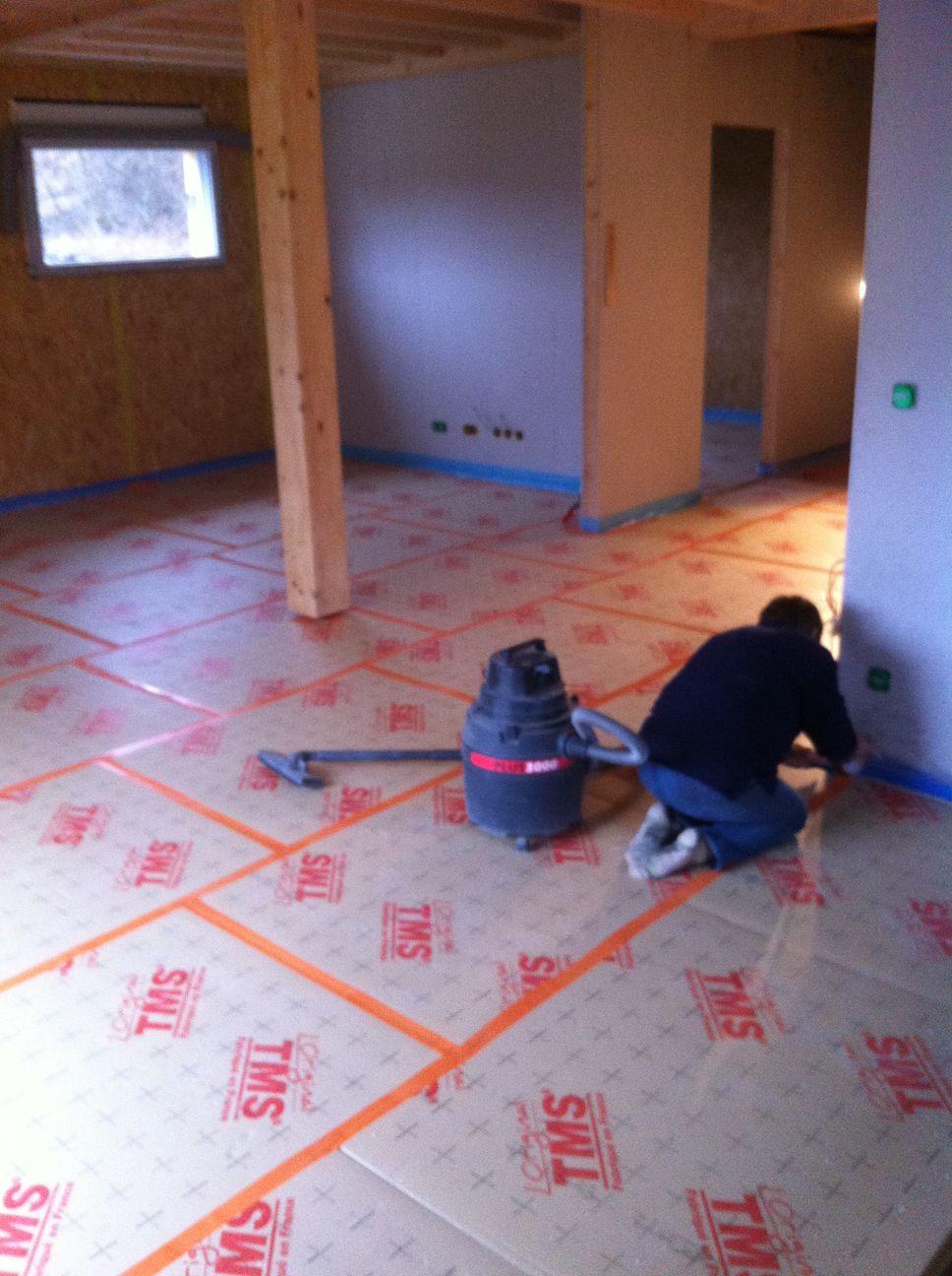Le plancher chauffant hydraulique blog maison for Plancher chauffant hydraulique